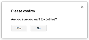 Dialogs and Sidebars in Google Apps