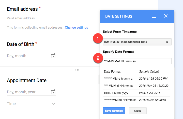 Oracle change date format